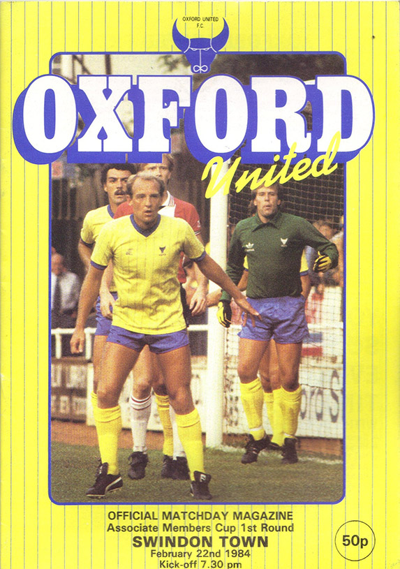 Wednesday, February 22, 1984 - vs. Oxford United (Away)