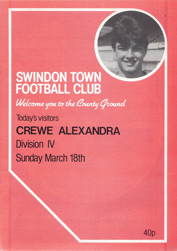Sunday, March 18, 1984 - vs. Crewe Alexandra (Home)