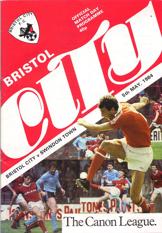 Saturday, May 5, 1984 - vs. Bristol City (Away)