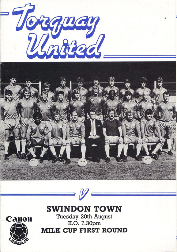 <b>Tuesday, August 20, 1985</b><br />vs. Torquay United (Away)