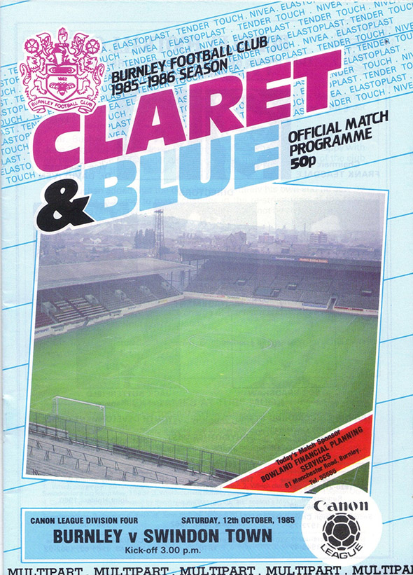 <b>Saturday, October 12, 1985</b><br />vs. Burnley (Away)