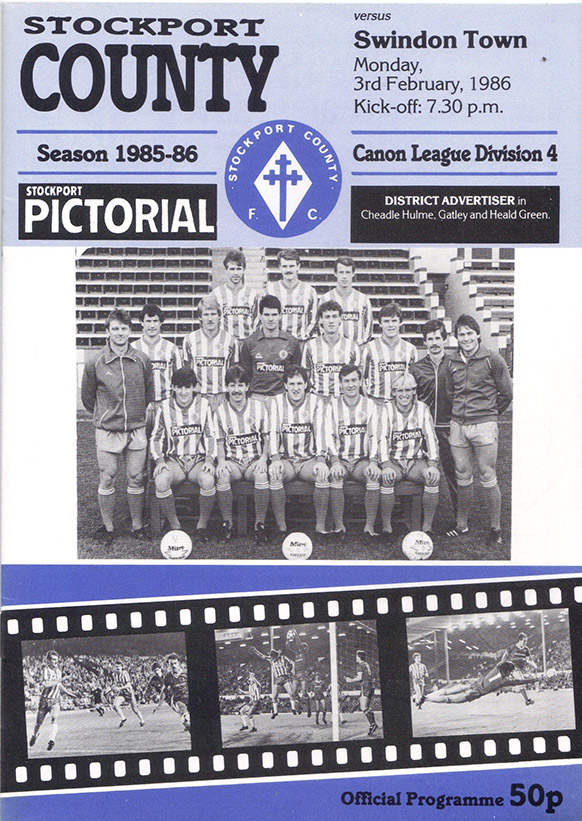 <b>Monday, February 3, 1986</b><br />vs. Stockport County (Away)