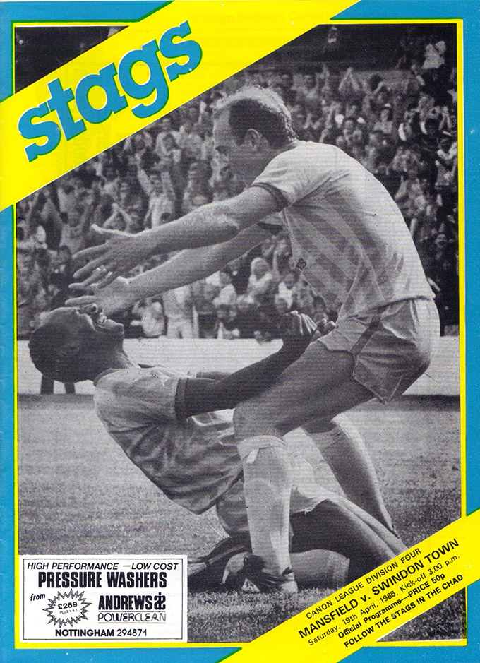 <b>Saturday, April 19, 1986</b><br />vs. Mansfield Town (Away)