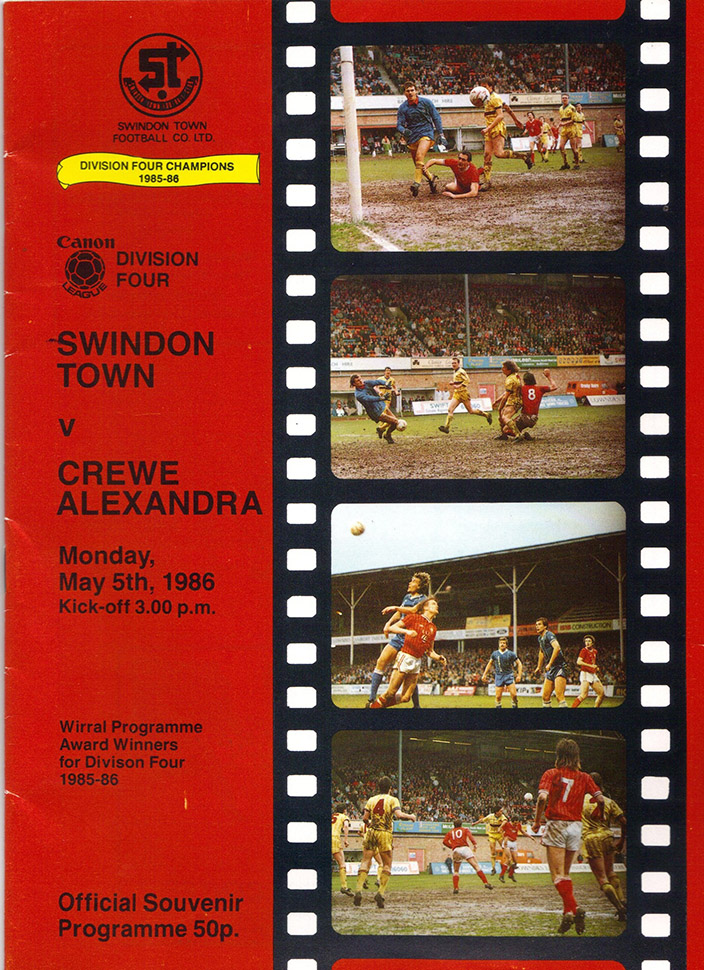 <b>Monday, May 5, 1986</b><br />vs. Crewe Alexandra (Home)