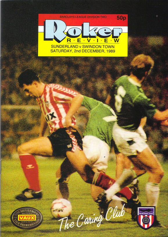 <b>Saturday, December 2, 1989</b><br />vs. Sunderland (Away)