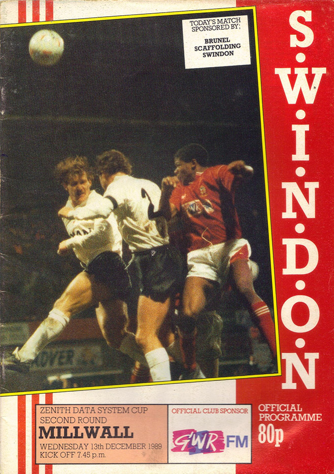 <b>Wednesday, December 13, 1989</b><br />vs. Millwall (Home)