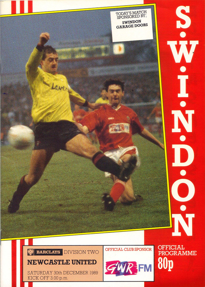 <b>Saturday, December 30, 1989</b><br />vs. Newcastle United (Home)