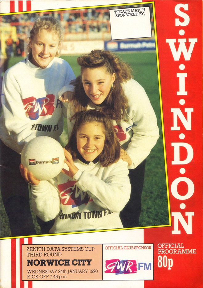 <b>Wednesday, January 24, 1990</b><br />vs. Norwich City (Home)