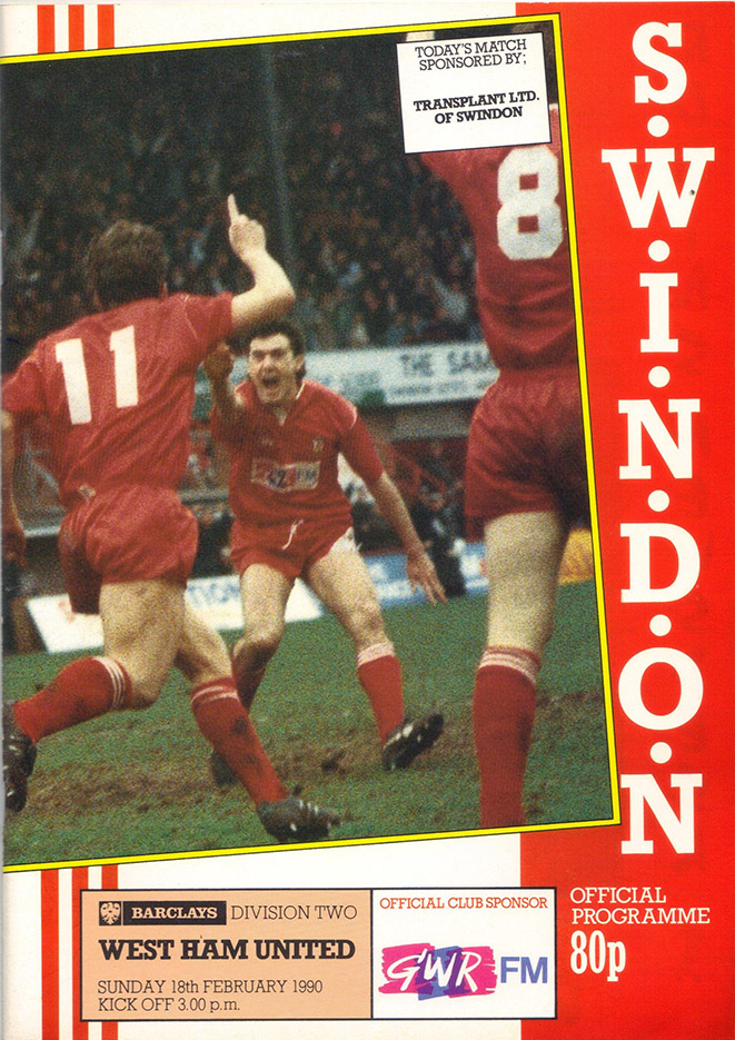 <b>Sunday, February 18, 1990</b><br />vs. West Ham United (Home)