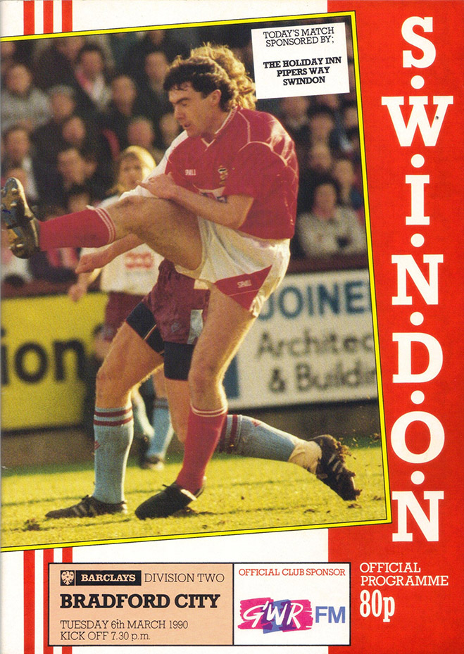 <b>Tuesday, March 6, 1990</b><br />vs. Bradford City (Home)