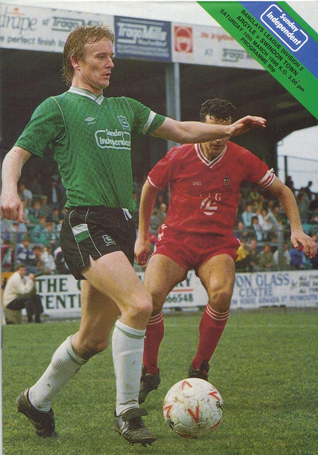 <b>Saturday, March 10, 1990</b><br />vs. Plymouth Argyle (Away)