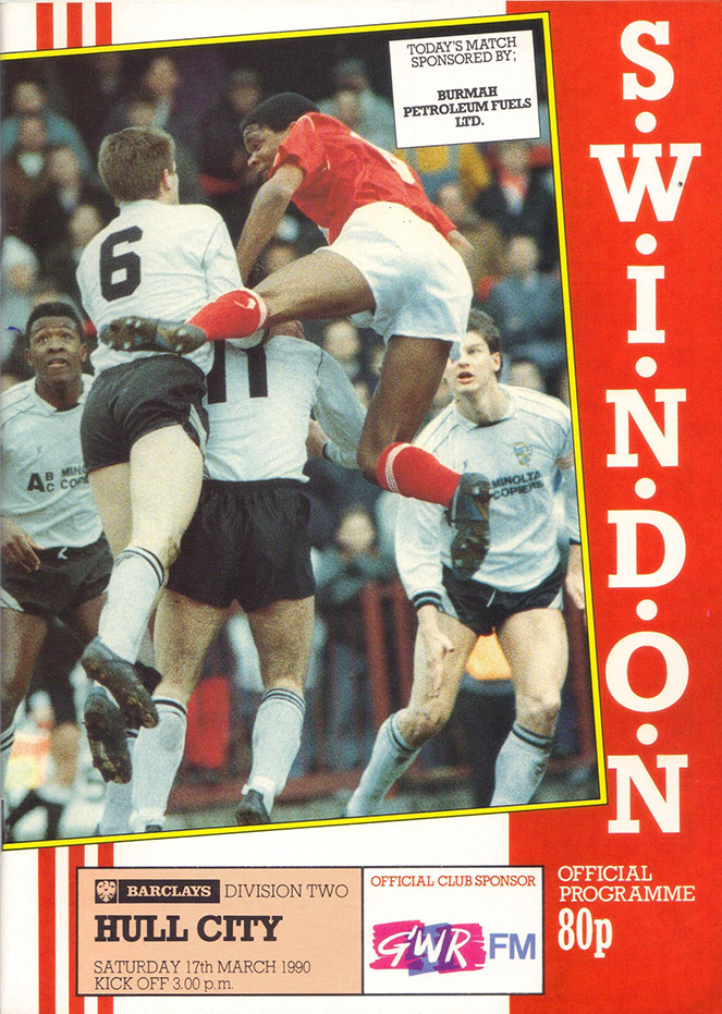<b>Saturday, March 17, 1990</b><br />vs. Hull City (Home)
