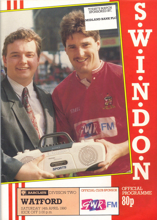 <b>Saturday, April 14, 1990</b><br />vs. Watford (Home)