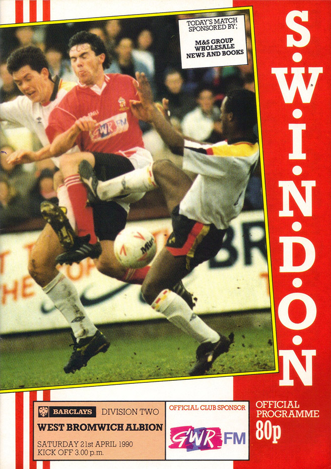 <b>Saturday, April 21, 1990</b><br />vs. West Bromwich Albion (Home)
