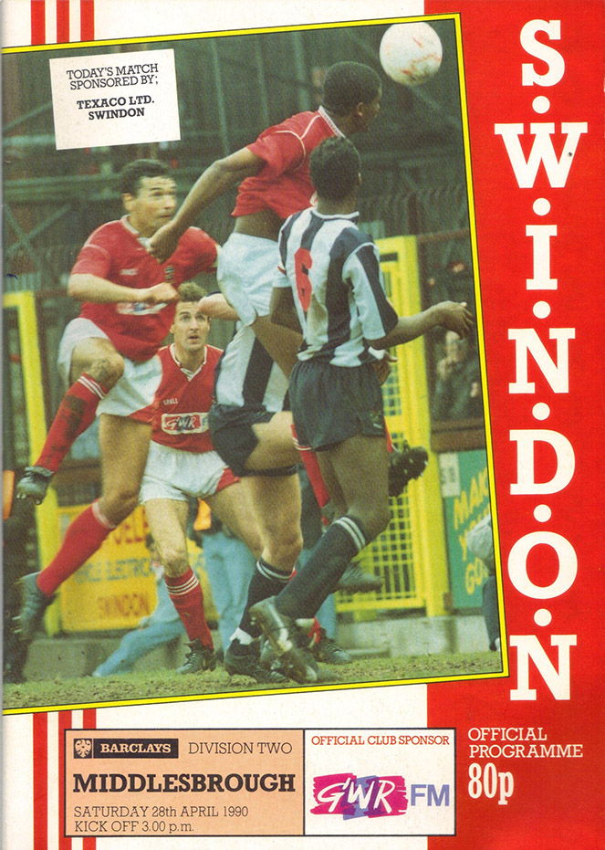 <b>Saturday, April 28, 1990</b><br />vs. Middlesbrough (Home)