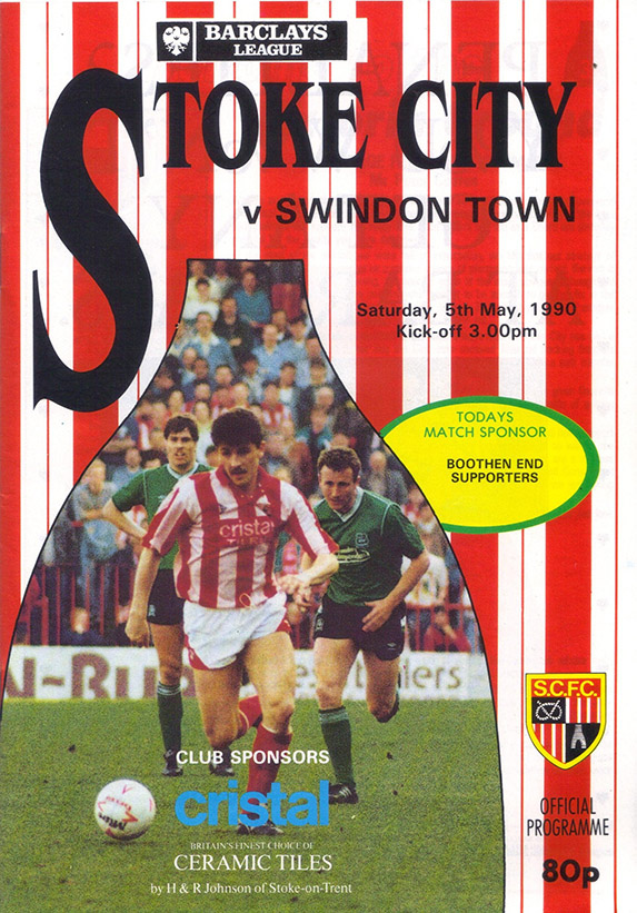 <b>Saturday, May 5, 1990</b><br />vs. Stoke City (Away)