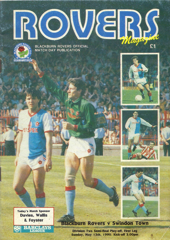 <b>Sunday, May 13, 1990</b><br />vs. Blackburn Rovers (Away)
