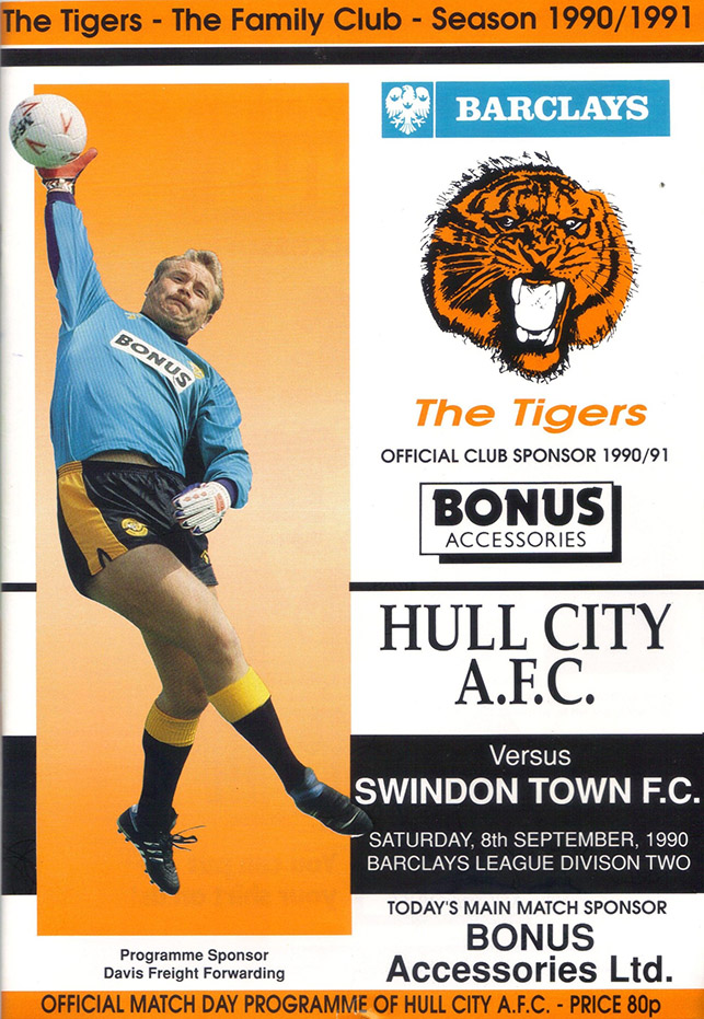 <b>Saturday, September 8, 1990</b><br />vs. Hull City (Away)