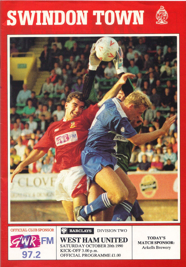 <b>Saturday, October 20, 1990</b><br />vs. West Ham United (Home)
