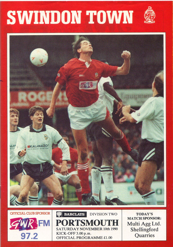 <b>Saturday, November 10, 1990</b><br />vs. Portsmouth (Home)