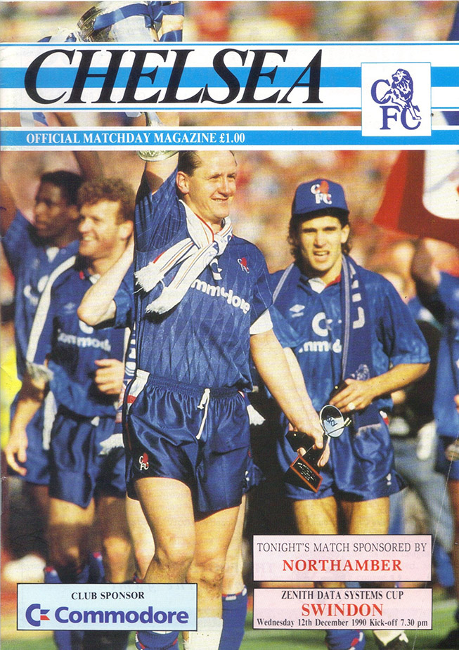 <b>Wednesday, December 12, 1990</b><br />vs. Chelsea (Away)