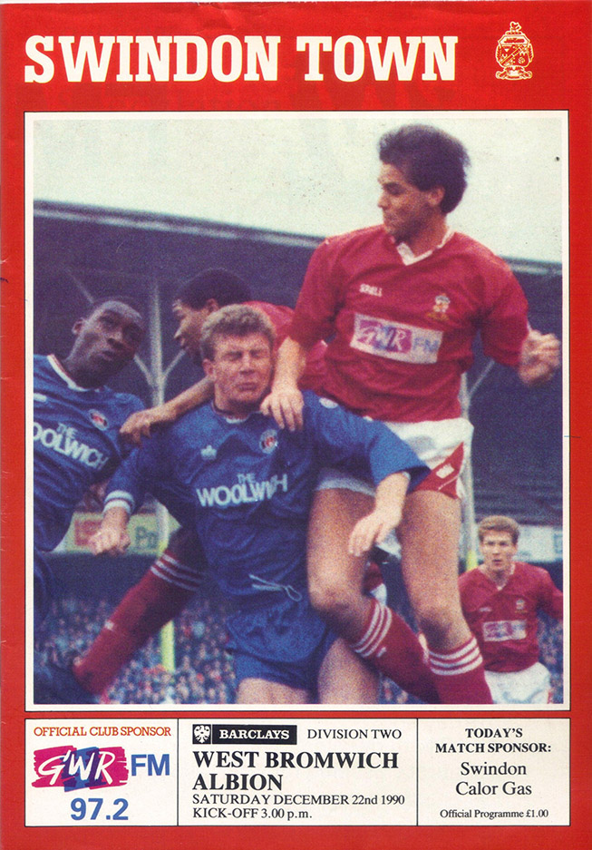 <b>Saturday, December 22, 1990</b><br />vs. West Bromwich Albion (Home)