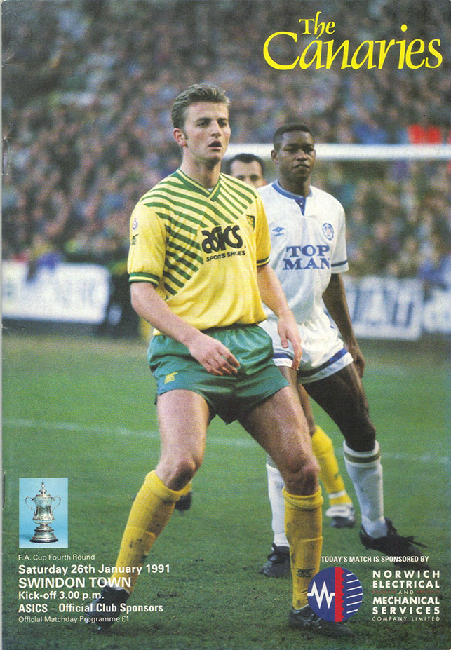 <b>Saturday, January 26, 1991</b><br />vs. Norwich City (Away)
