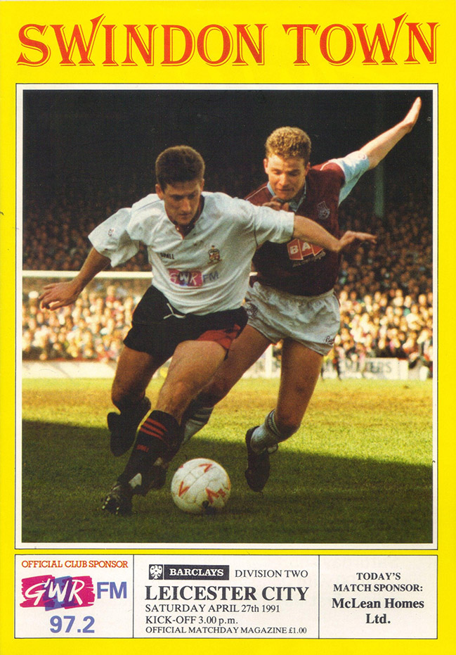 <b>Saturday, April 27, 1991</b><br />vs. Leicester City (Home)