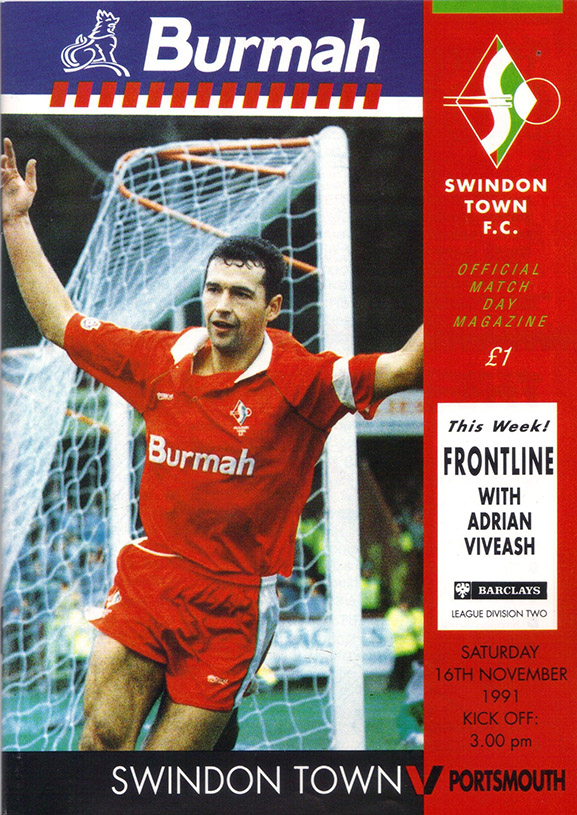 <b>Saturday, November 16, 1991</b><br />vs. Portsmouth (Home)