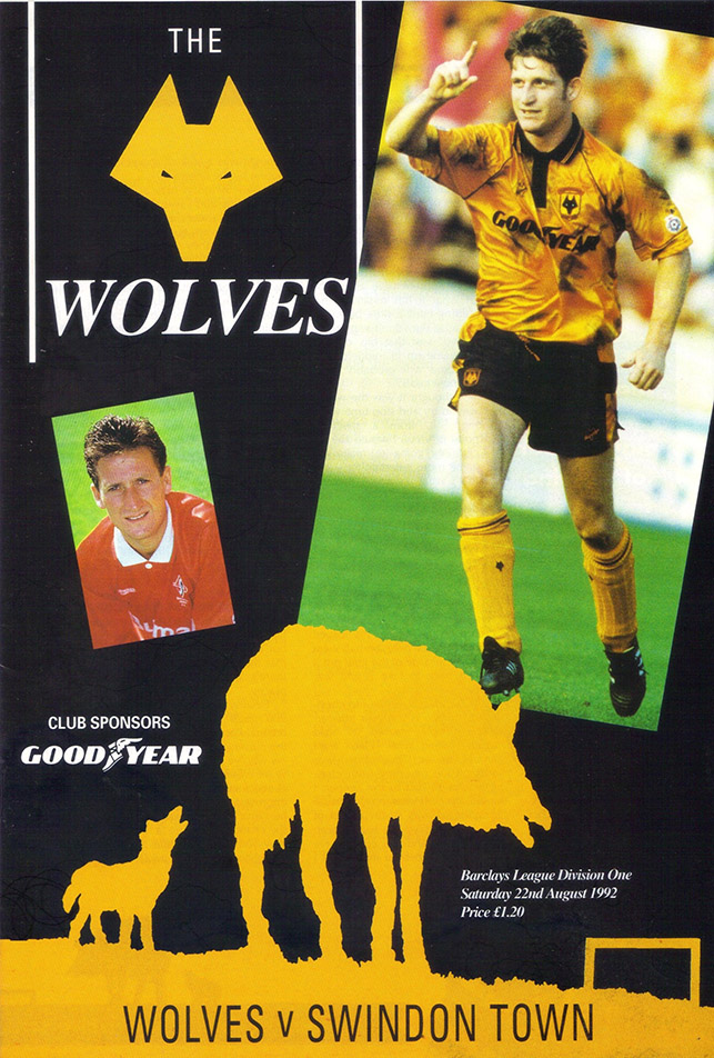 <b>Saturday, August 22, 1992</b><br />vs. Wolverhampton Wanderers (Away)