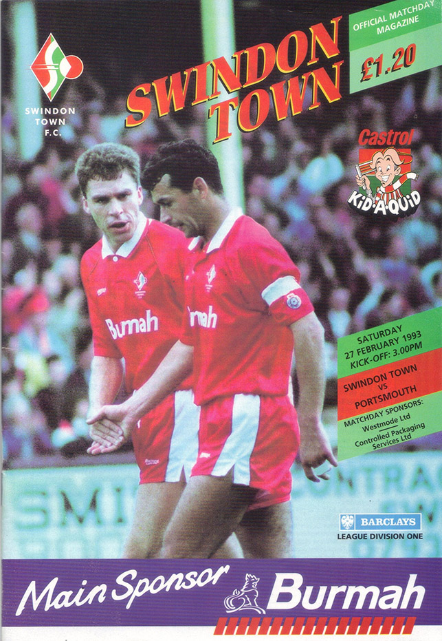 <b>Saturday, February 27, 1993</b><br />vs. Portsmouth (Home)