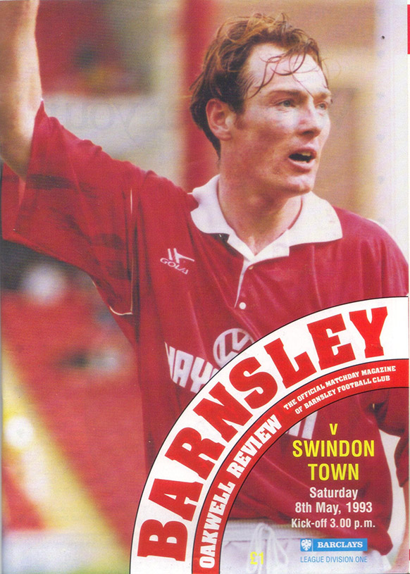 Saturday, May 8, 1993 - vs. Barnsley (Away)