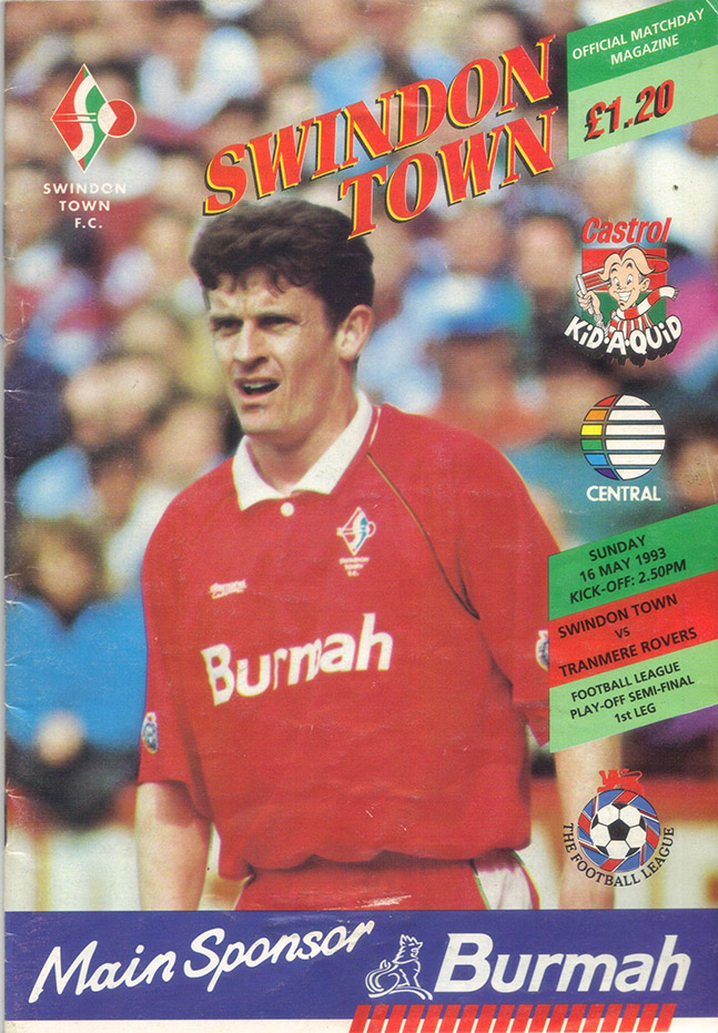 <b>Sunday, May 16, 1993</b><br />vs. Tranmere Rovers (Home)