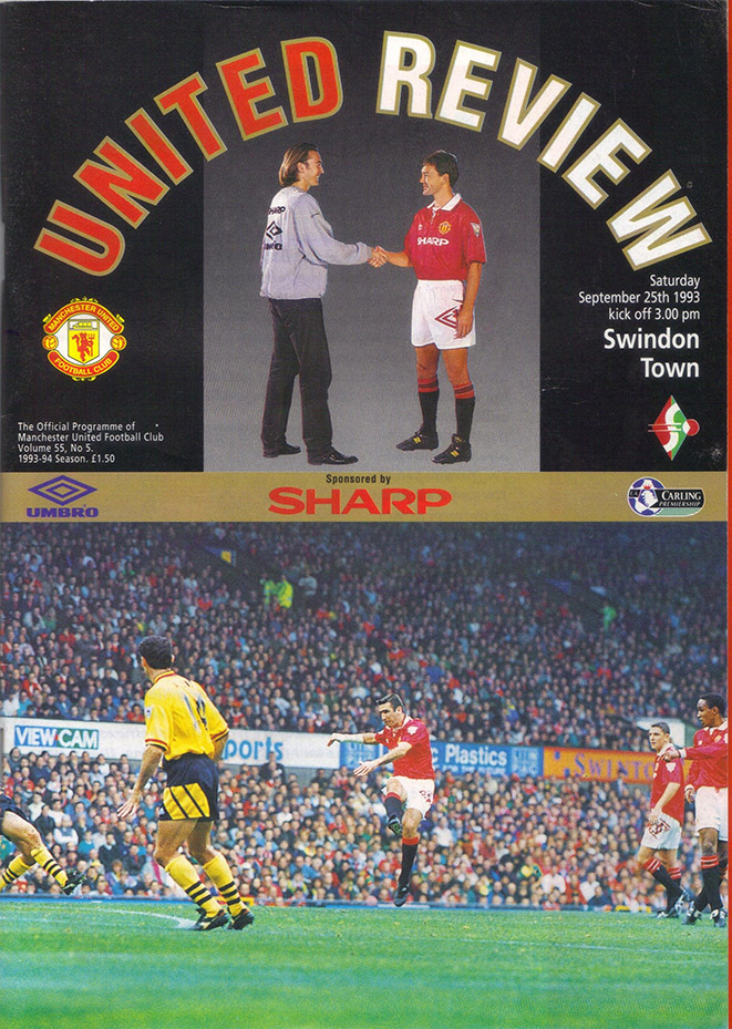 Saturday, September 25, 1993 - vs. Manchester United (Away)