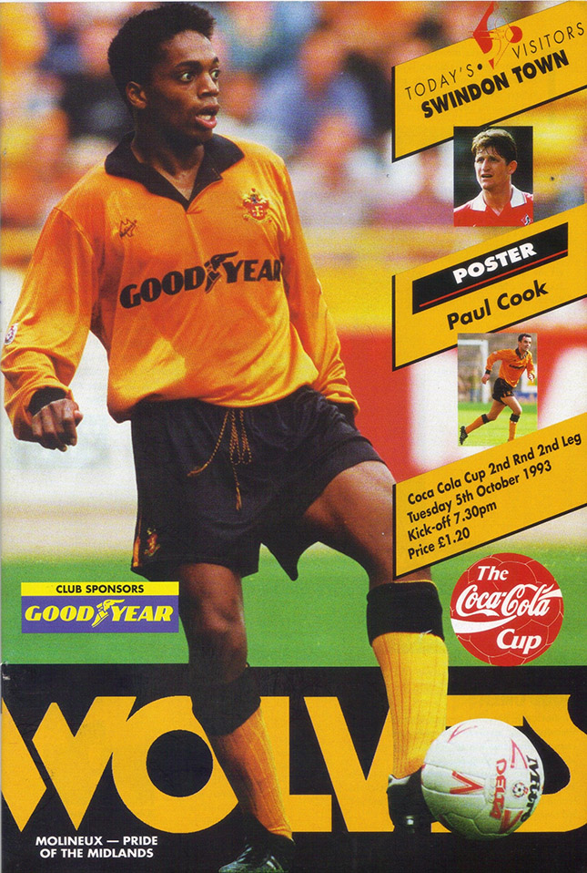 Tuesday, October 5, 1993 - vs. Wolverhampton Wanderers (Away)