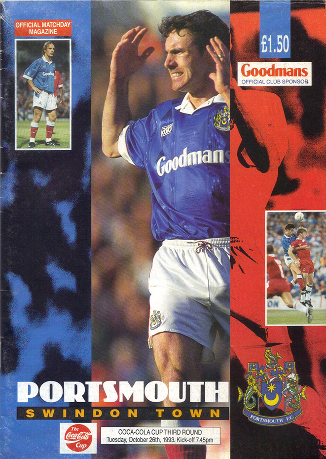 Tuesday, October 26, 1993 - vs. Portsmouth (Away)