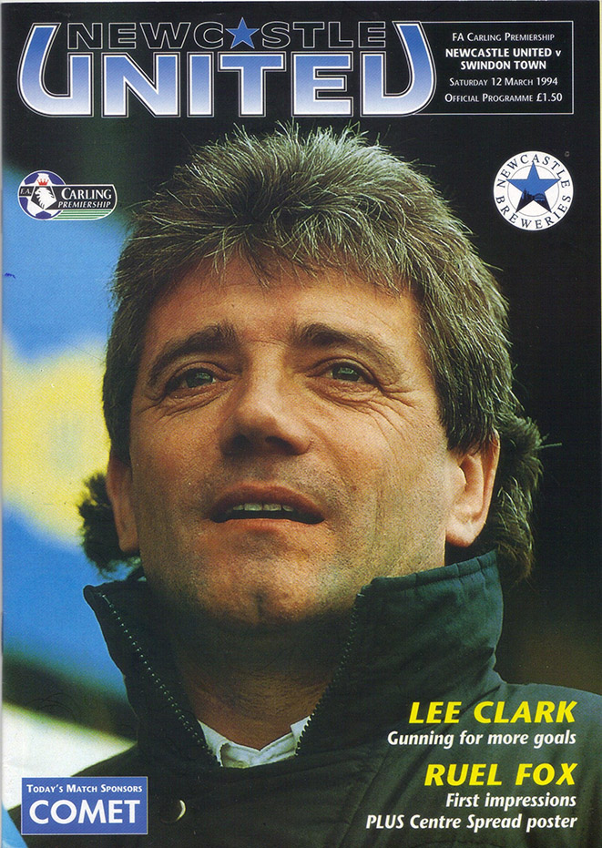 Saturday, March 12, 1994 - vs. Newcastle United (Away)