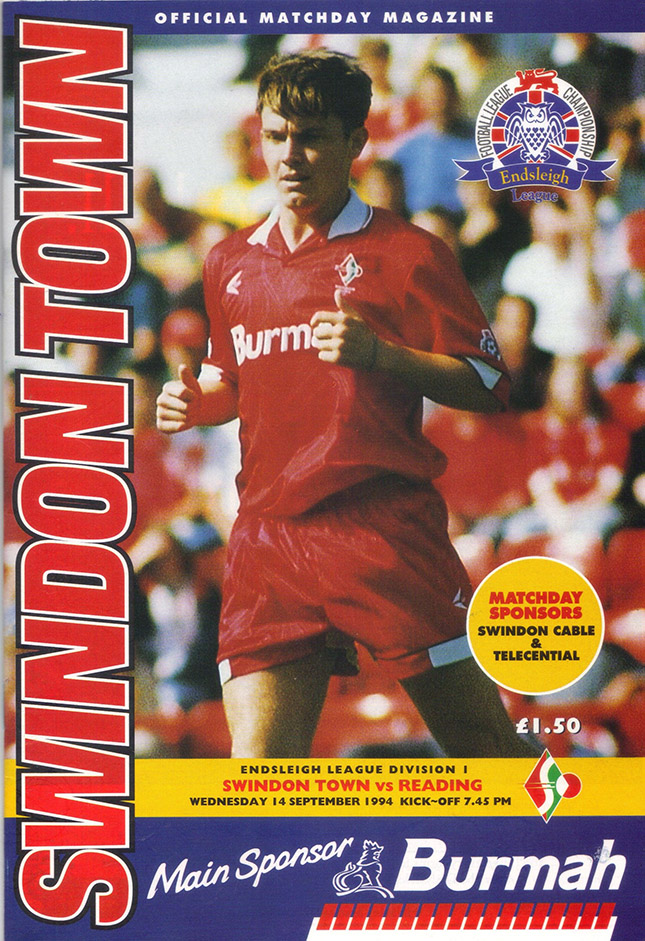 <b>Wednesday, September 14, 1994</b><br />vs. Reading (Home)