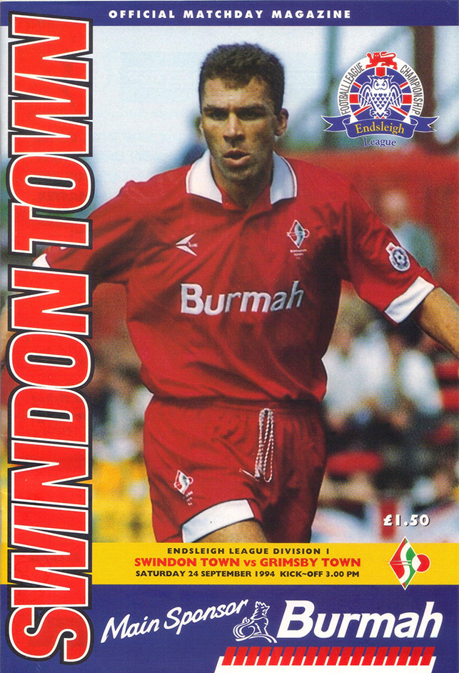 <b>Saturday, September 24, 1994</b><br />vs. Grimsby Town (Home)