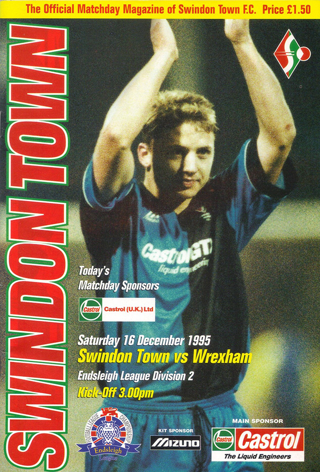 Saturday, December 16, 1995 - vs. Wrexham (Home)