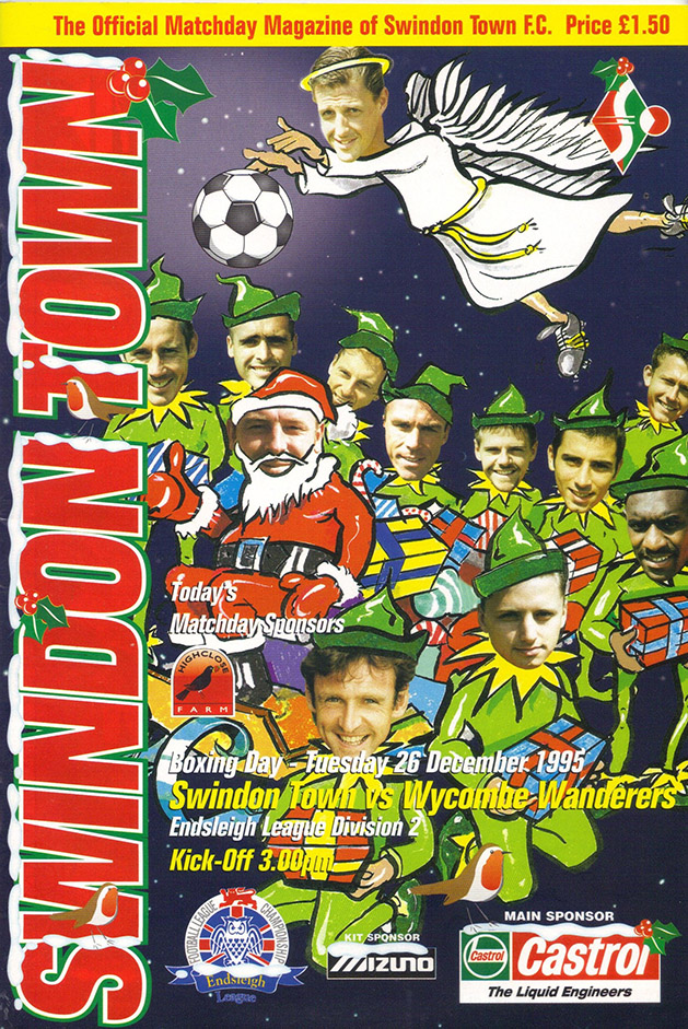Tuesday, December 26, 1995 - vs. Wycombe Wanderers (Home)