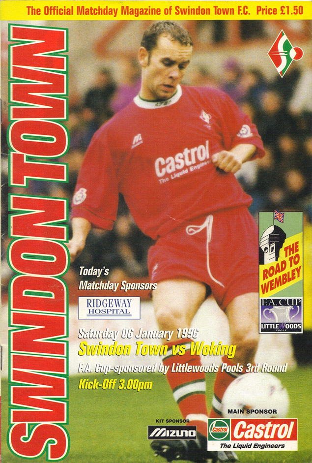 Saturday, January 6, 1996 - vs. Woking (Home)