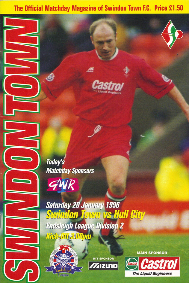 Saturday, January 20, 1996 - vs. Hull City (Home)