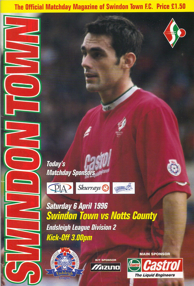 Saturday, April 6, 1996 - vs. Notts County (Home)