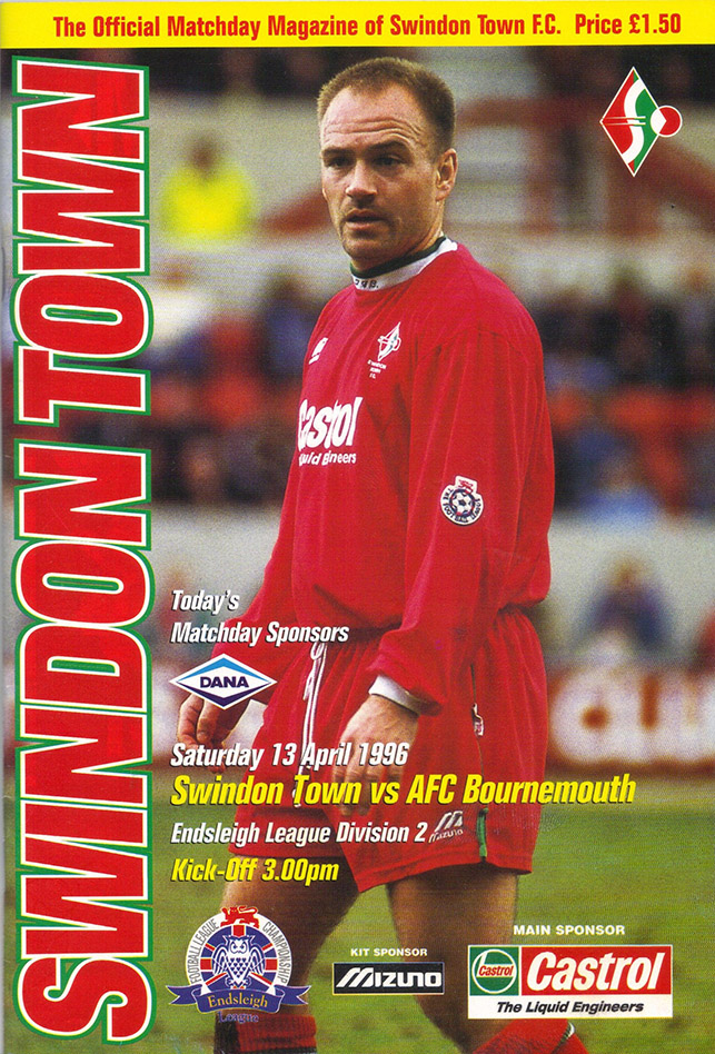 Saturday, April 13, 1996 - vs. AFC Bournemouth (Home)