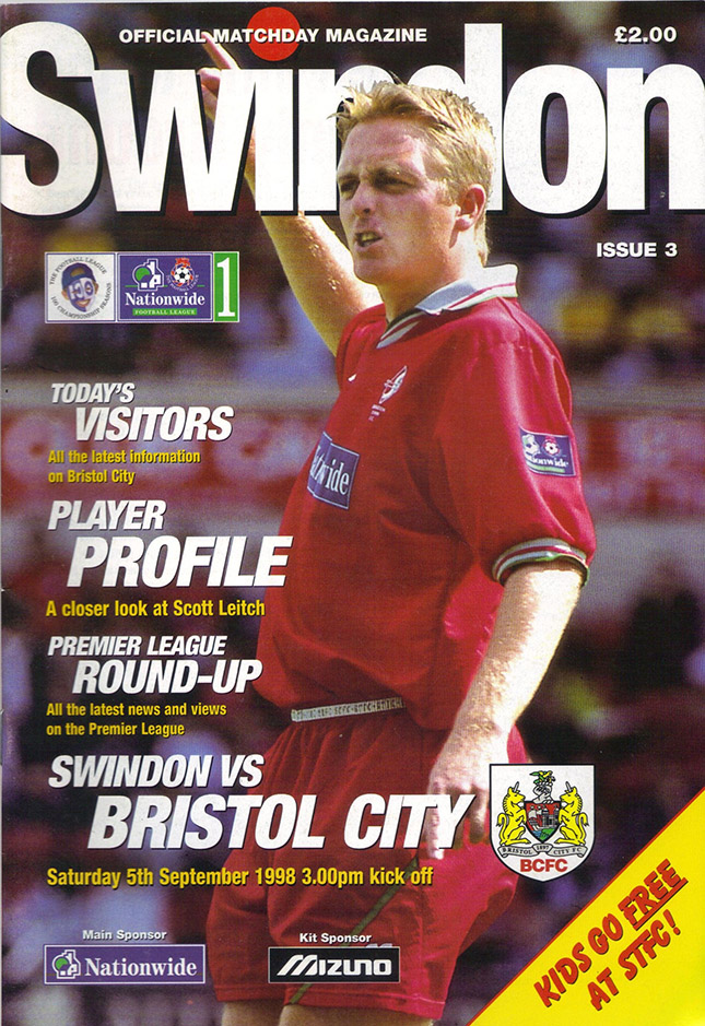 Saturday, September 5, 1998 - vs. Bristol City (Home)