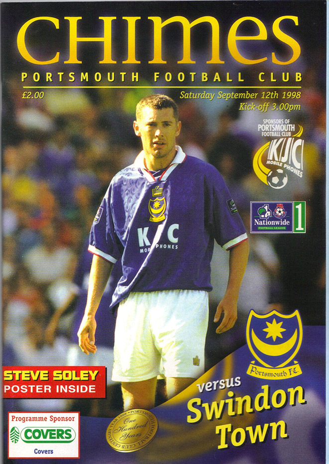 Saturday, September 12, 1998 - vs. Portsmouth (Away)