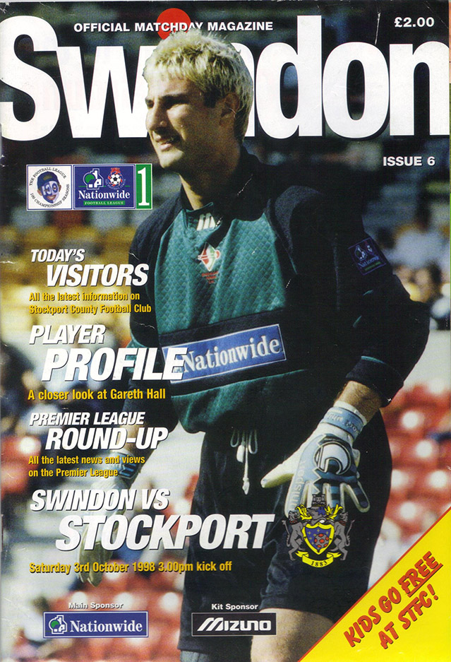 Saturday, October 3, 1998 - vs. Stockport County (Home)