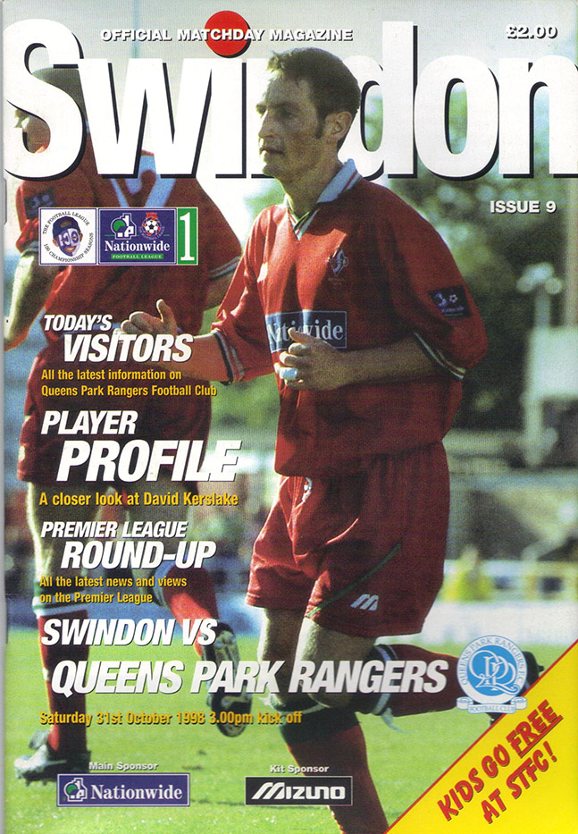 Saturday, October 31, 1998 - vs. Queens Park Rangers (Home)