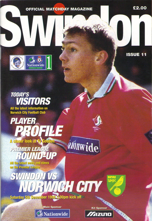 Saturday, December 5, 1998 - vs. Norwich City (Home)